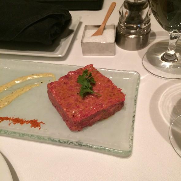 Beef Tartare Plate @ Restaurant R'evolution