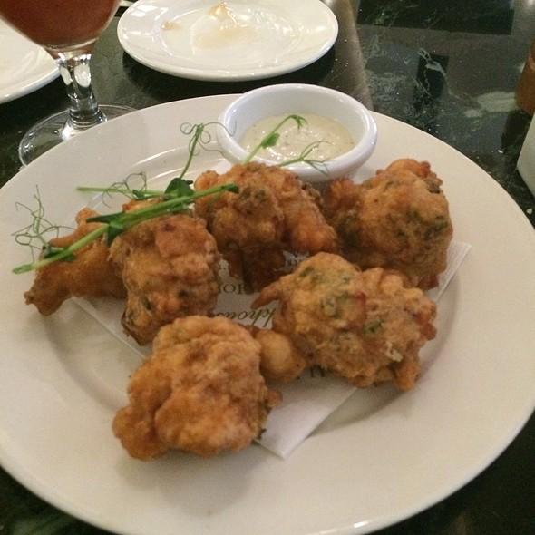 Shrimp Beignets @ Palace Cafe