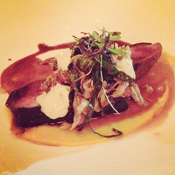 Roasted Duckling With Confit & Foie Gras @ Restaurant August