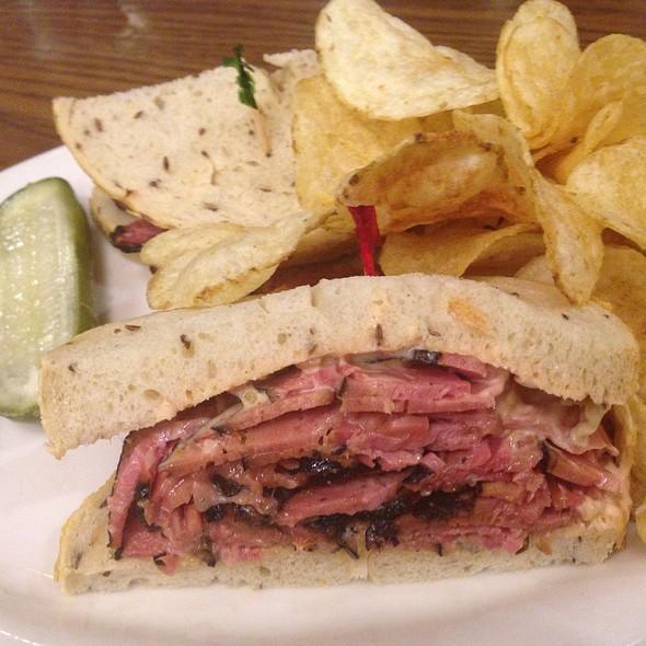 Reuben Sandwich @ Greenblatt's Deli-Restaurant