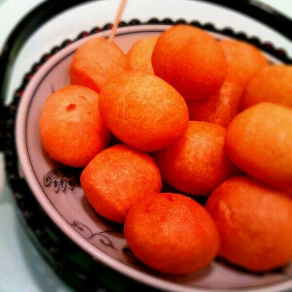 Sweet Potato Ball  @ fong lye taiwan restaurant  sunway pyramid