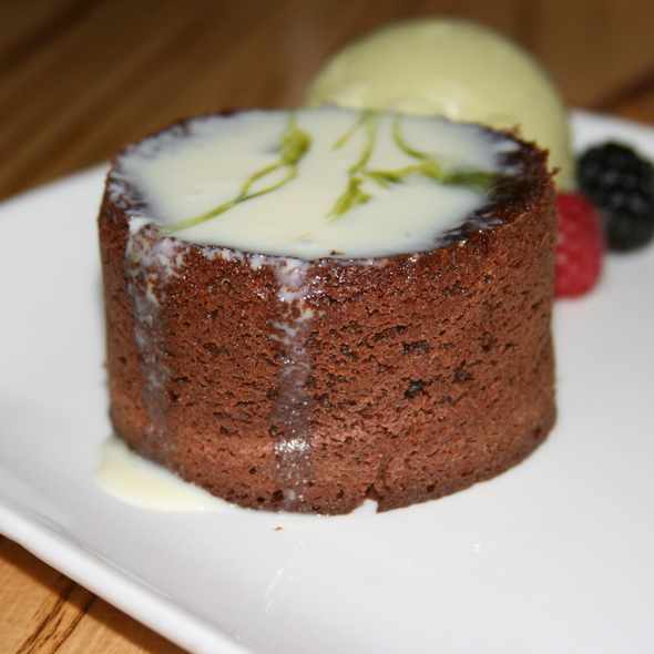 Molten Chocolate Cake @ Nobu Restaurant