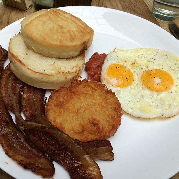 2 Egg Breakfast With Bacon - Urban Farmer, Portland, OR