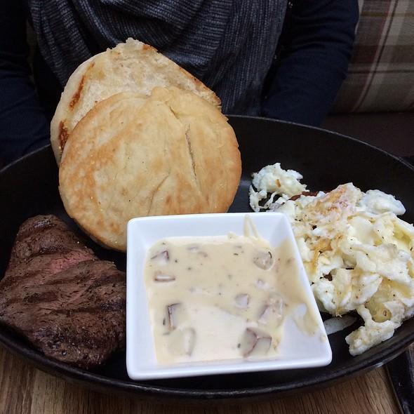 Steak and Eggs - Urban Farmer, Portland, OR