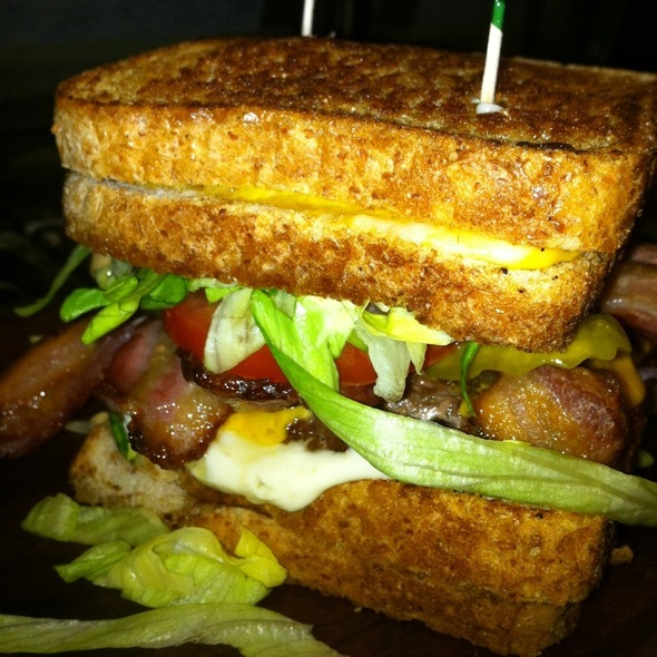 Grilled Cheese Burger @ Sandpiper Golf Club