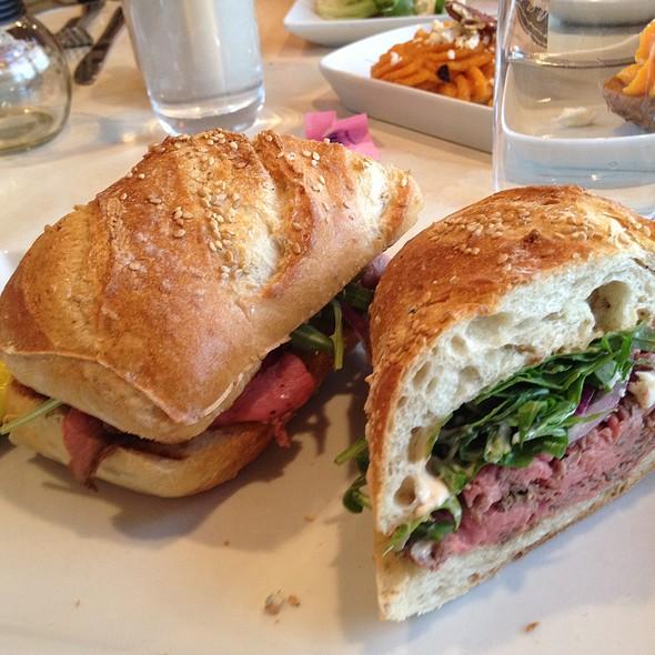 Roast Beef Gorgonzola Sandwich @ Americana Diner & Restaurant