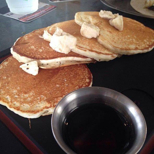 Vanilla Pancakes - Woodshed Smokehouse, Fort Worth, TX