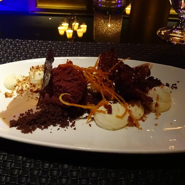Dark Chocolate Panna Cotta
