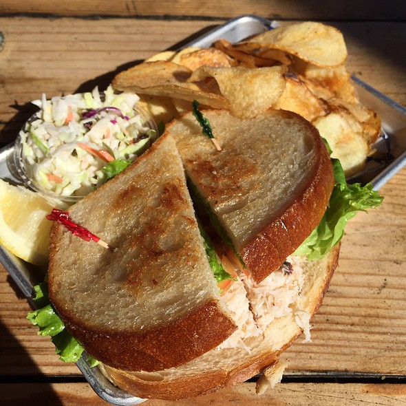 Dungeness Crab Sandwich @ New England Lobster Market & Eatery