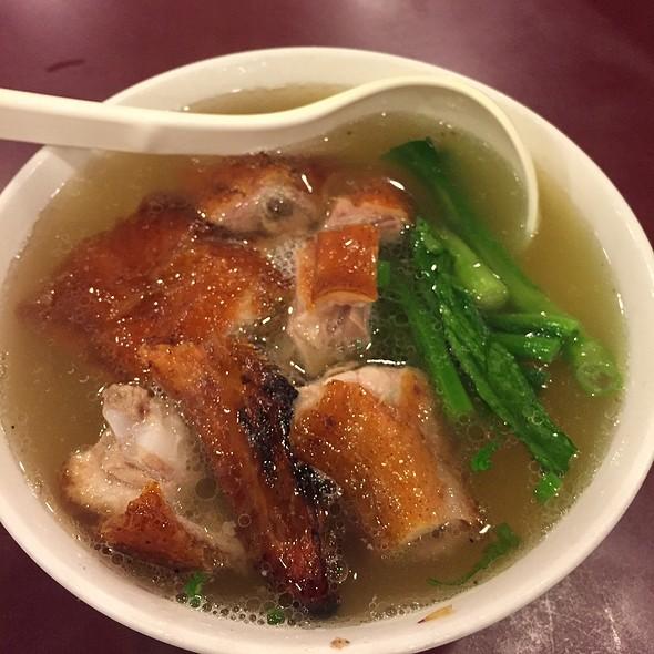 duck noodle soup @ Fat Wong's Kitchen