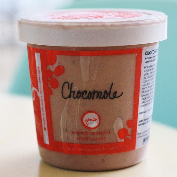 Jeni's Chocomole Ice Cream @ Healthy Living Market and Cafe