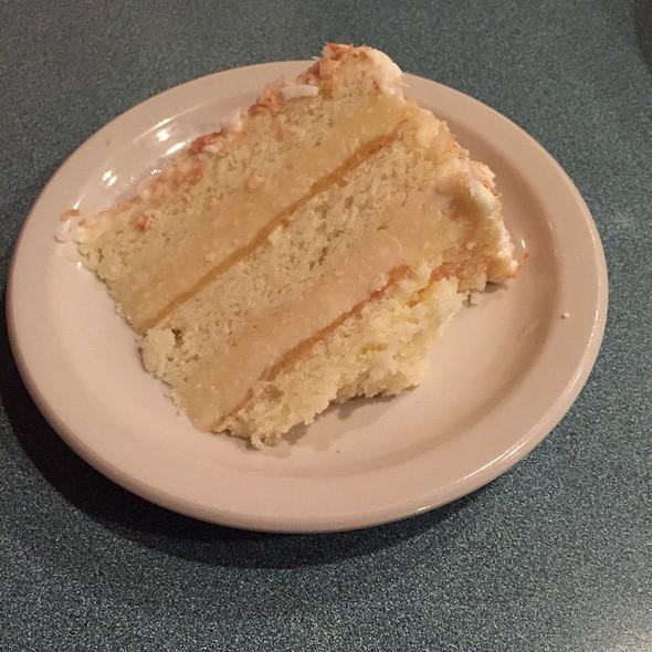 Pina Colada Cake @ Barnacle Bill's Seafood House