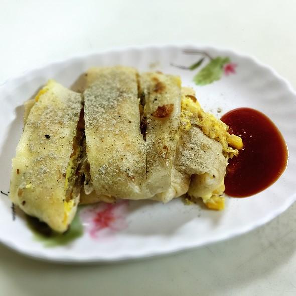滿滿胡椒的玉米起司蛋餅⋯⋯ @ 瑞麟美又美 河濱國小店