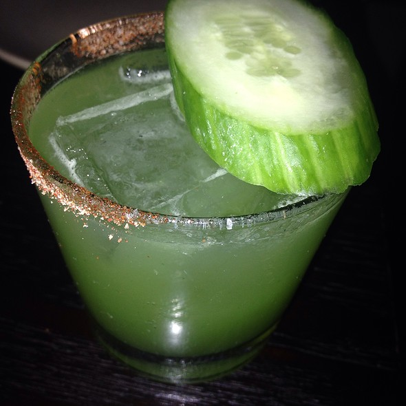 Spicy Cucumber Margarita - Empellon Taqueria, New York, NY