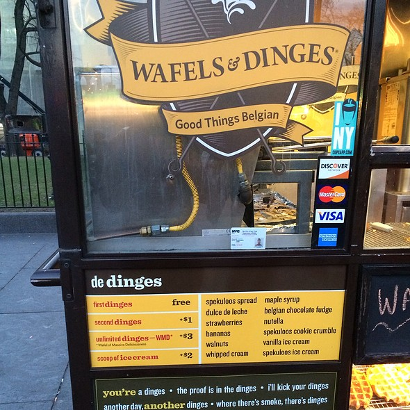 De Dinges @ Wafles & Dinges