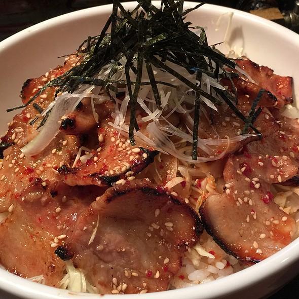 特製豚バラ丼 @ 焼肉酒菜 吟弥 金沢片町店