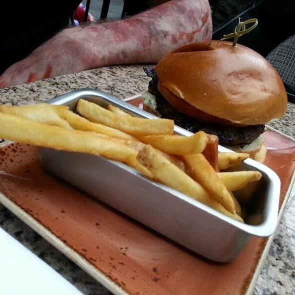 Lamb Burger - National Pastime Sports Bar & Grill - Gaylord National, National Harbor, MD