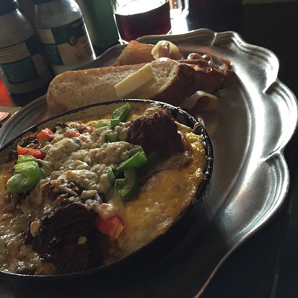 Short rib cast iron omelet - Café 21 - University Heights, San Diego, CA