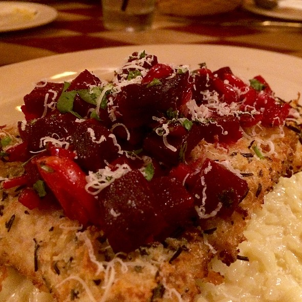 Rosemary Encrusted Mahi - DiGiorgio's Cafe Largo, Key Largo, FL
