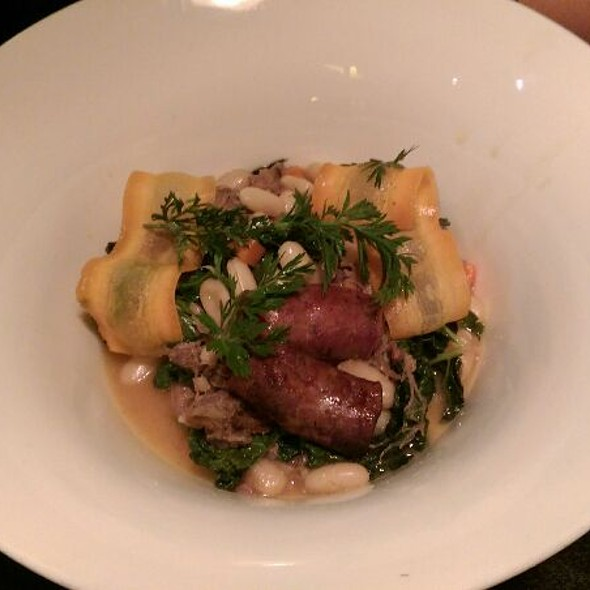 Braised Lamb With Lab Sausage. @ Tag