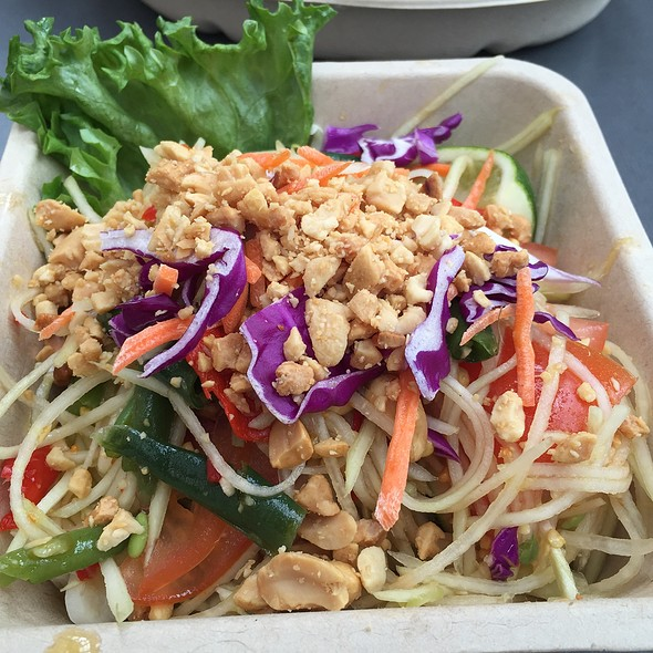 Papaya Salad @ Crushcraft