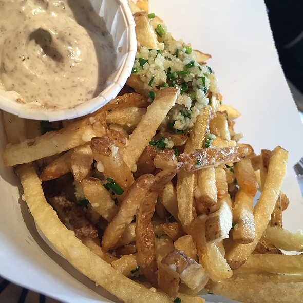 Truffle Fries @ Hopdoddy Burger Bar Dallas