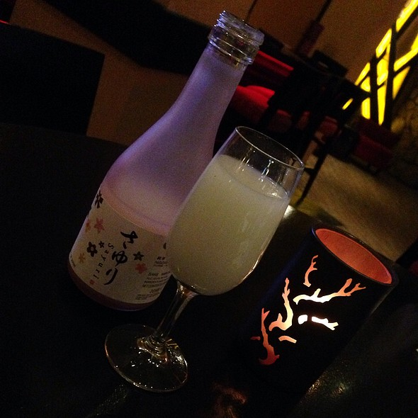 Sayuri Nigori Sake - Rice & Company - Luxor, Las Vegas, NV