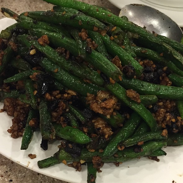 Green Beans With Minced Pork