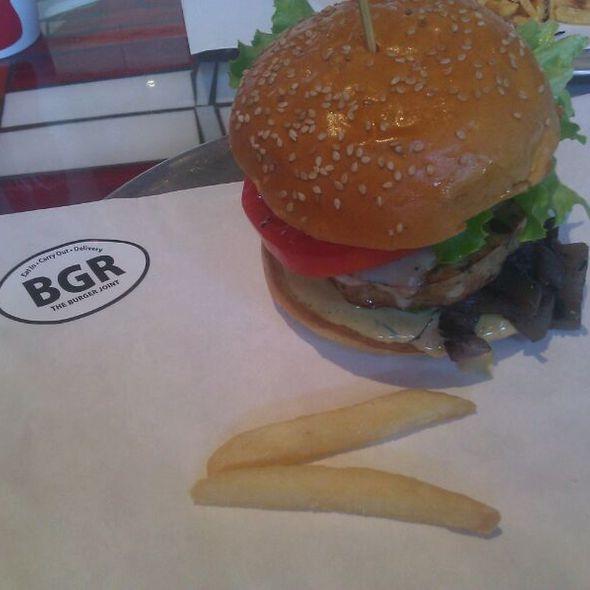 Turkey Burger @ BGR The Burger Joint