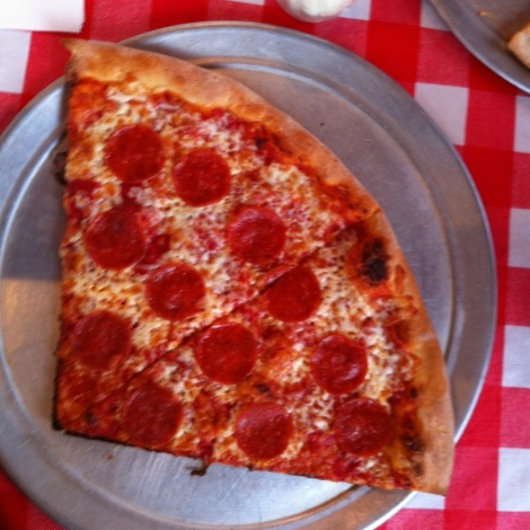 Pepperoni Pizza @ GRANT ST PIZZA & SUBS.