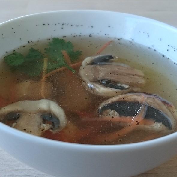 Tofu and Mushroom Soup @ Kin Kao Thai Kitchen