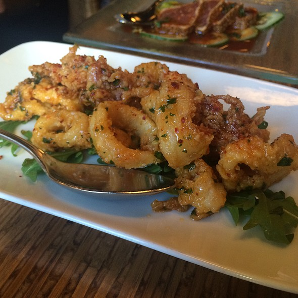 Flash Fried Calamari - Willi's Seafood & Raw Bar, Healdsburg, CA