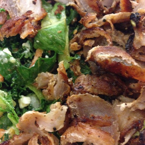 Kale Salad With Pork @ GRK