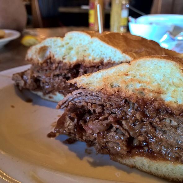 Brisket Sandwich @ Sherman's Deli & Bakery