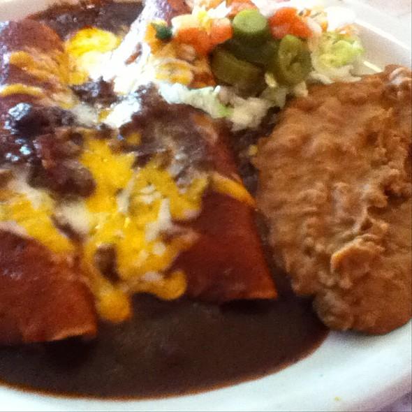 Beef Enchiladas @ Chuy's