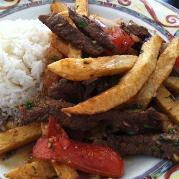 lomo saltado @ dx peruvian restaurant