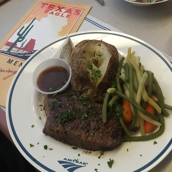 Amtrak Steak