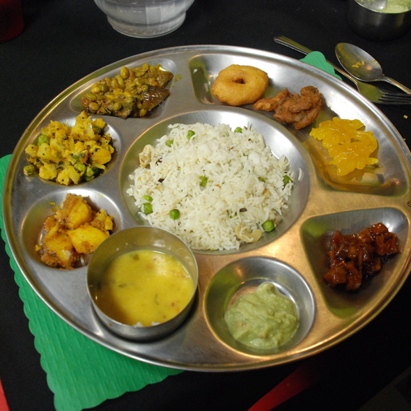 Vegetarian Indian Buffet