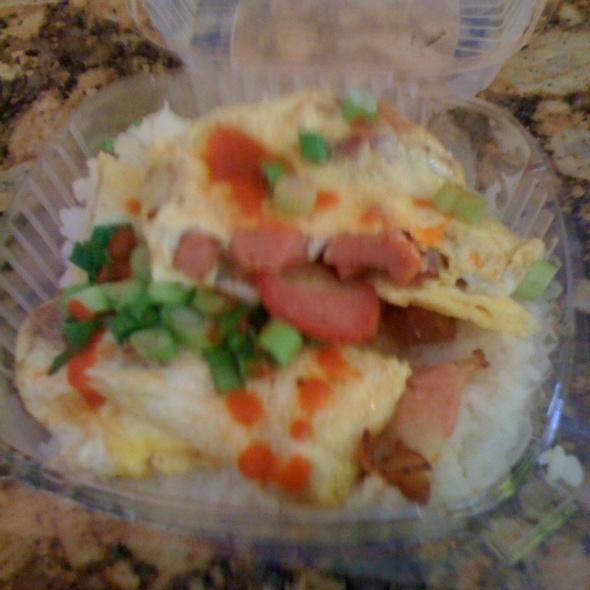 Aloha Omelette @ L&L Hawaiian Barbecue
