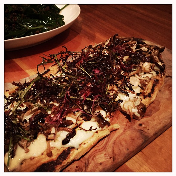 mushrooms @ Craft Bar Restaurant
