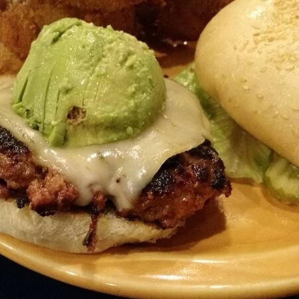 Chorizo Mango Burger @ Surfrider Cafe