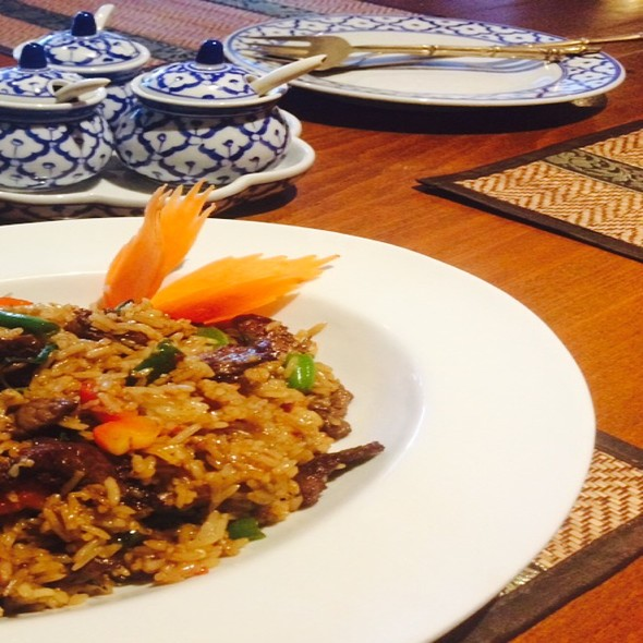 Rindfleisch Thai Spezial @ Restaurant Thai-Elephant