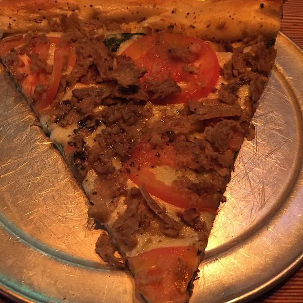 white pizza @ Andolini's Pizza