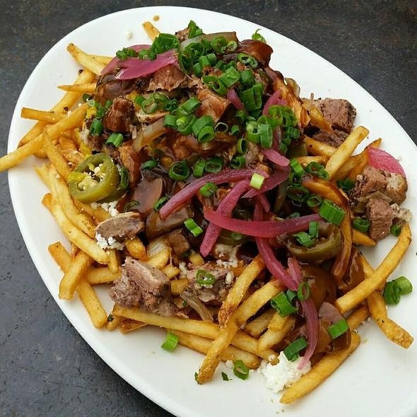 BBQ Beef Belly Poutine @ BRC Gastropub