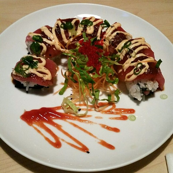 red dragon roll @ Yamato Japanese Restaurant