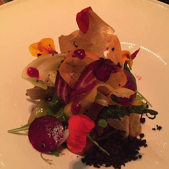 Root Vegetable Salad - A Voce Columbus, New York, NY