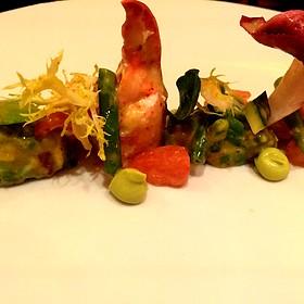 Salade De Homarde: Lobster And Avocado Salad With Black Truffle Vinaigrette - Le Cirque - Bellagio, Las Vegas, NV