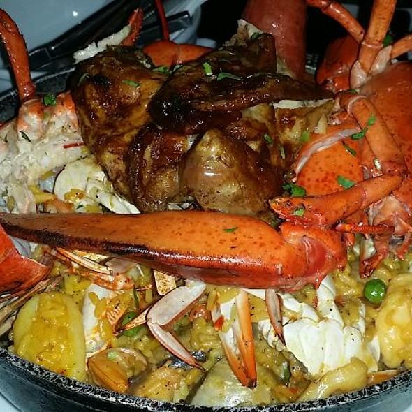 Lobster Paella @ Chimu Peruvian Cusina & Steak