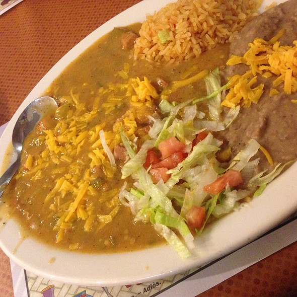 Pork Green Chili Plate