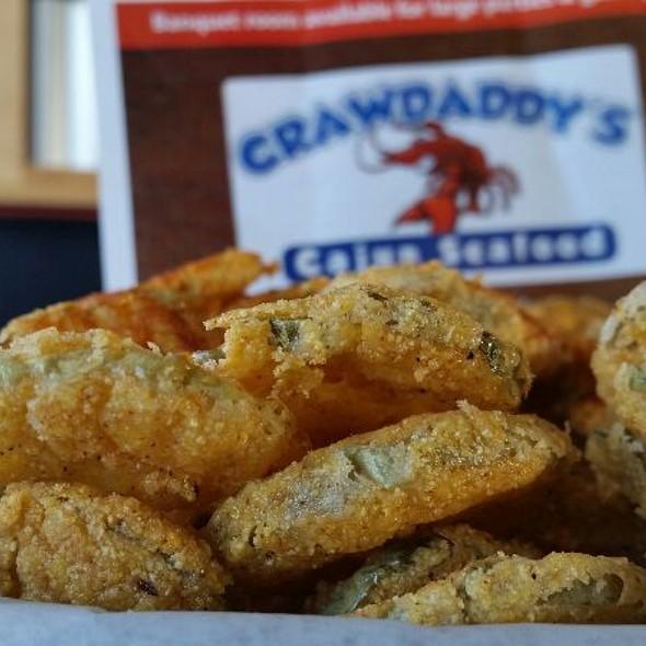 Fried Pickles @ Crawdaddy